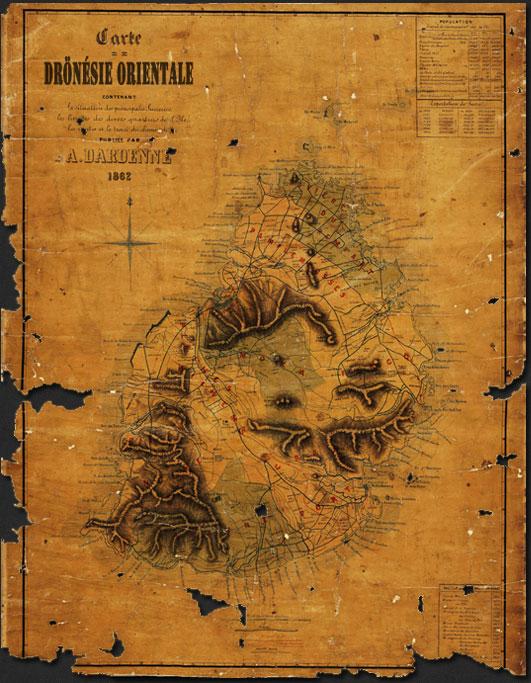 carte de la dronésie