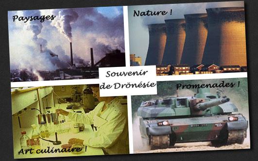 carte postale de Dronesie
