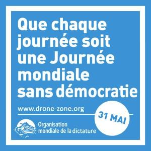Journée mondiale sans démocratie