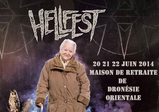 La Drönésie accueille le HELLFEST 2014