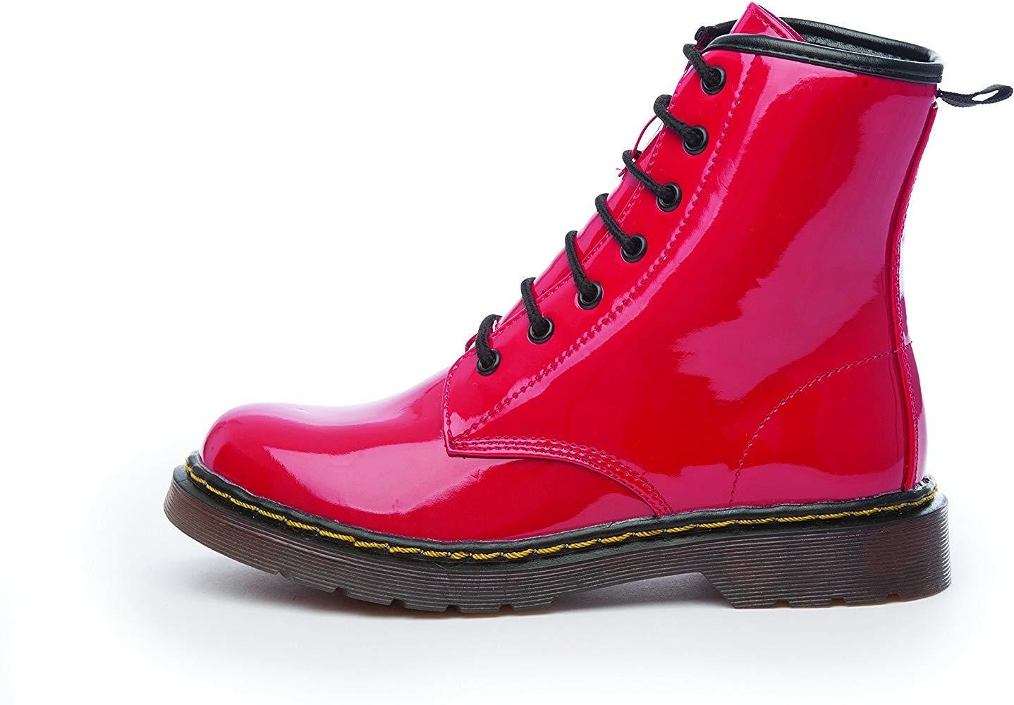 Red Plastik Boots